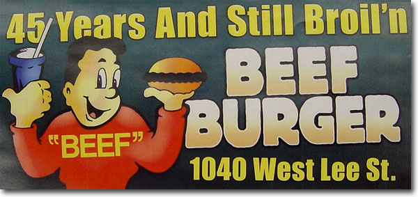 Beef Burger 45th Anniversary